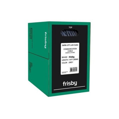 FRISBY FNW-CAT622 UTP 24 AWG 305MT CAT6 KABLO GRI
