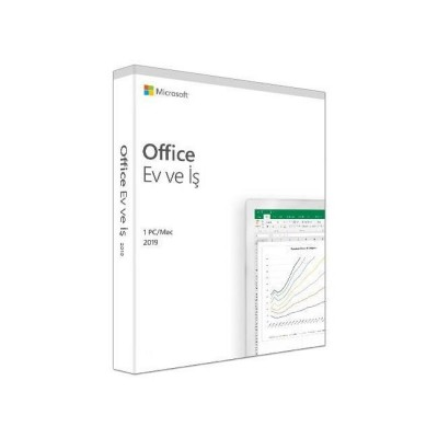 MS OFFICE 2019 HOME BUSINESS TURKCE KUTU T5D-03258
