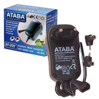 ATABA AT-2121 12V 1000 MAH ADAPTÖR