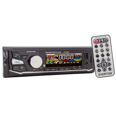 EVERTON RT-2003BT USB/SD/FM/AUX/BT BLUETOOTHLU MEKANİKSİZ OTO TEYP 4 X 50 WATT