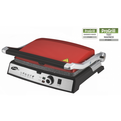PT-3203 PROGRILL Tost Makinesi