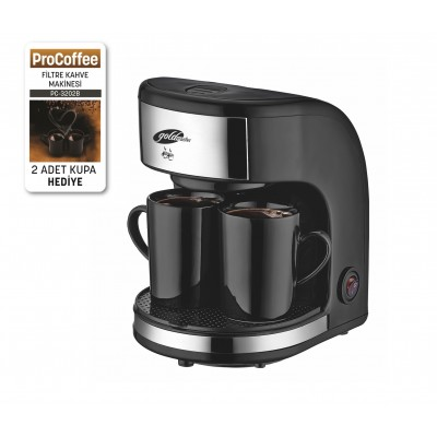 Goldmaster PC-3202B ProCoffee Mini Filtre Kahve Makinesi